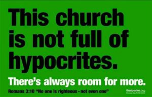 Aren't Christians Just A Bunch Of Hypocrites?