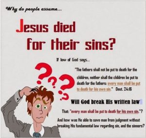 Did God Break The Law When He Sent Jesus to The Cross?