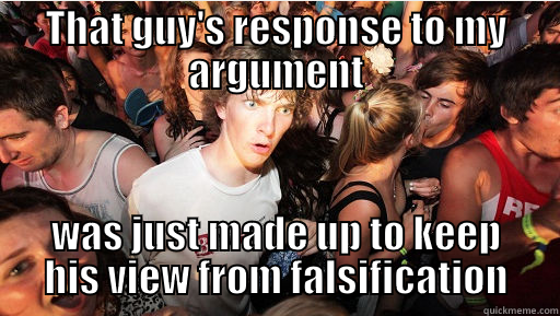 You are currently viewing Logical Fallacy Series — Part 13: The Ad Hoc Fallacy