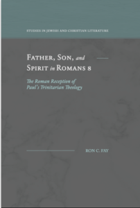 """BOOK REVIEW: """"Father, Son, and Spirit in Romans 8"""" by Ron C. Fay"""